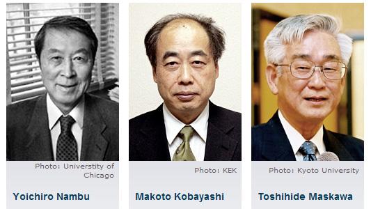 лауреаты Нобелевской премии по физике 2008 года