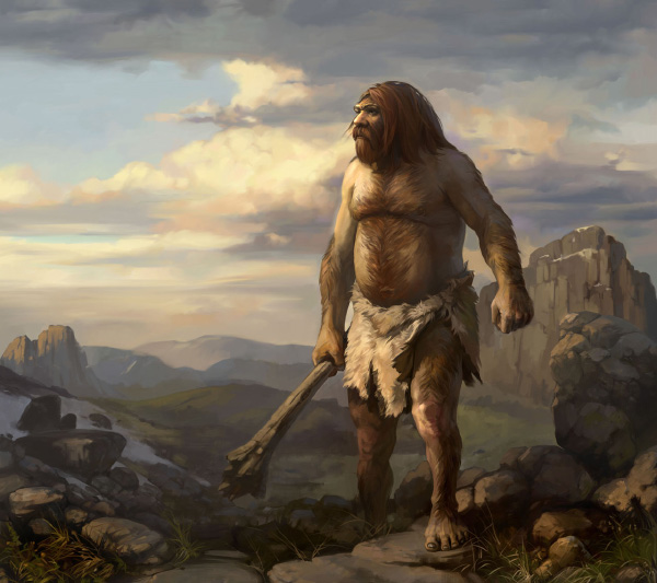 Неандертальцы,люди