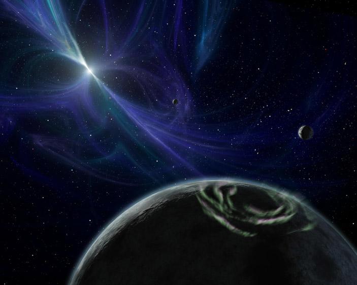 Окрестности экзопланеты PSRB1257+12d