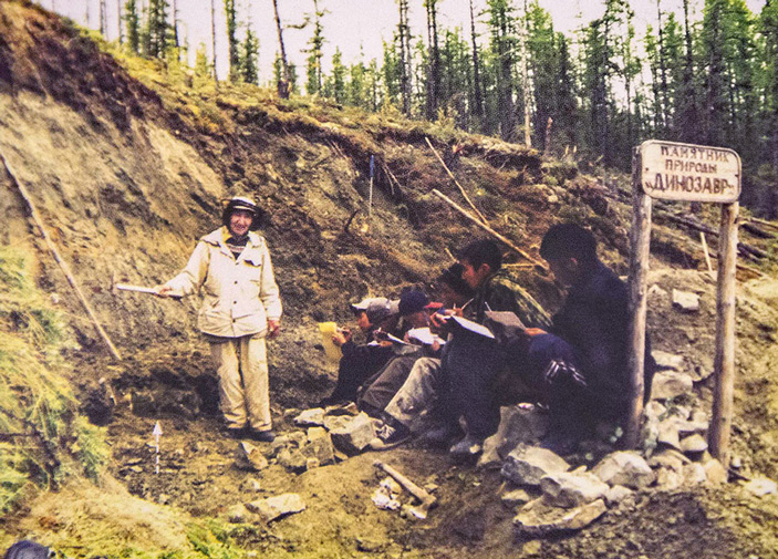 Найденные в Якутии зубы принадлежали самым северным завроподам