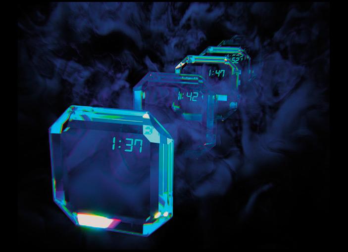 Художественный образ «кристалла вдискретном времени»