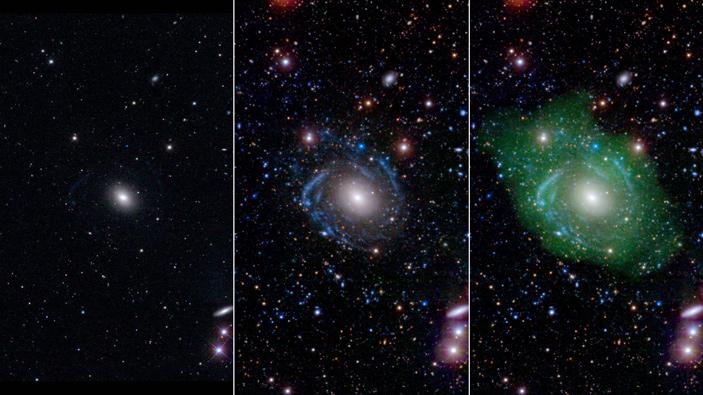 Рис. 2. Гигантская галактика низкой яркости UGC 1382