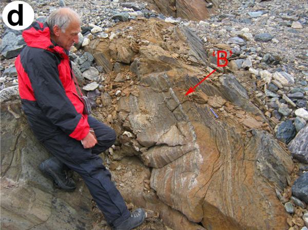 Геолог Кларк Френд, признанный знаток архейских пород Гренландии