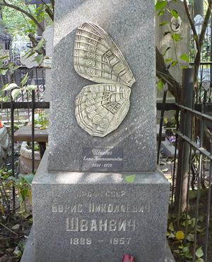 Надгробие Б.Н.Шванвича