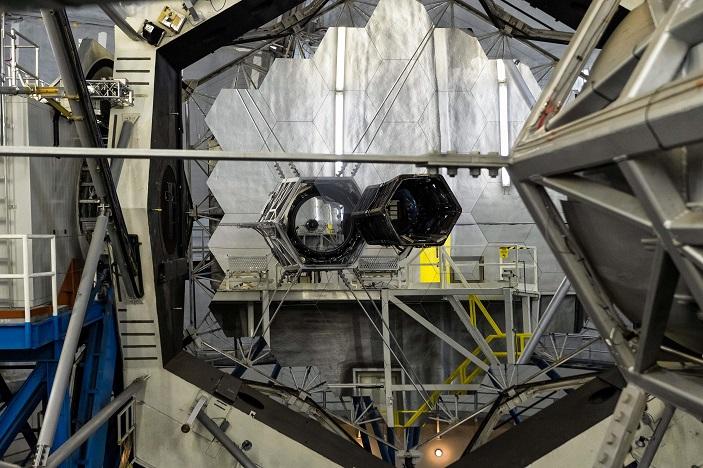 рис. 3. зеркало телескопа
