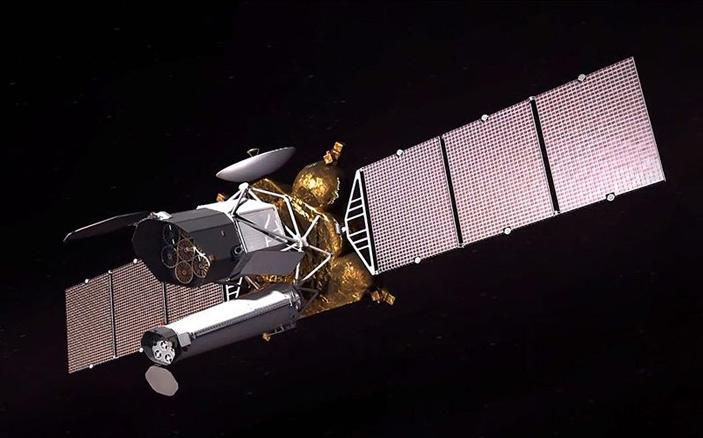Компьютерная модель обсерватории «Спектр-РГ»