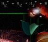 Катион триводорода удалось получить из органических молекул при помощи лазера