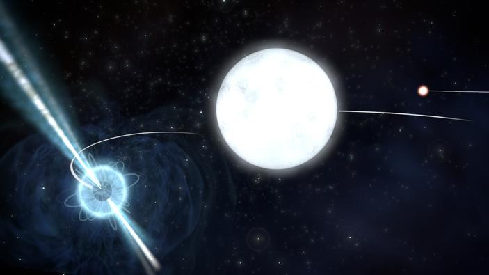 Тройная звездная система PSRJ0337+1715 подтвердила свою исключительную перспективность для проверки сильного принципа эквивалентности