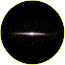 Небо в ближнем инфракрасном диапазоне 1–4 мкм (COBE/DIRBE)