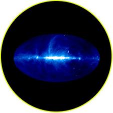 Радионебо на волне 73,5 см, 408 МГц (Бонн)