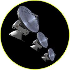 Система радиотелескопов ALMA (строится)