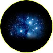 Рассеянное звездное скопление Плеяды