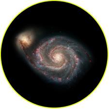 Спиральная галактика M51