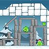 """Пример равновесия палочки, зажатой между «потолком» и камнем, вигре """"Angry Birds"""""""