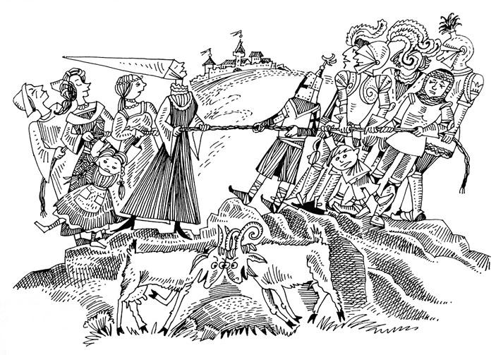 Иллюстрация Натальи Колпаковой («Химия и жизнь» №2, 2021)