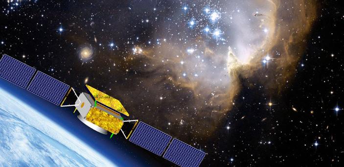 Китайский спутниковый детектор космических лучей DAMPE