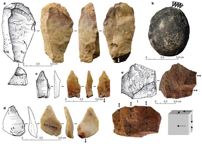 Каменные орудия из Калинги