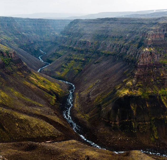 Базальтовые скалы плато Путорана